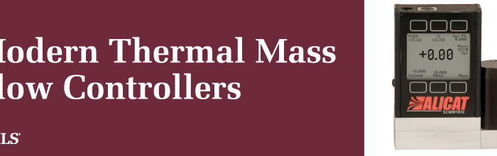 alicat mass flow controller thermal