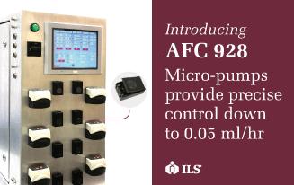 AFC 928 bioreactor controller launch micro pumps