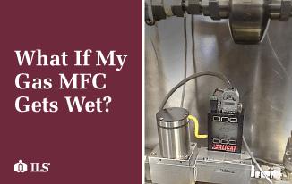 What if my gas MFC gets wet? Alicat gas flow controller handles liquids